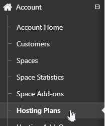 Select  Hosting Plans