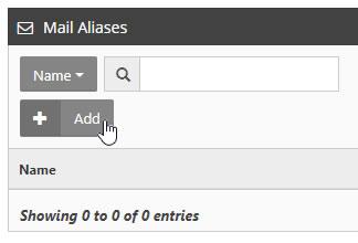 Create Mail Alias
