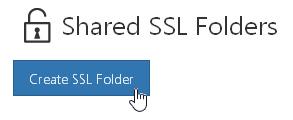 Create SSL Folder