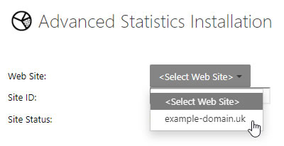 Advanced Statistics Installation