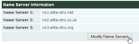 Name Server Information