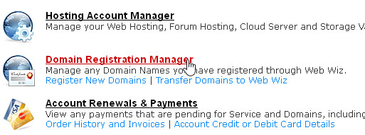 Domain Registration Manager