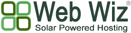 Web Wiz - Solar Powered Eco Hosting